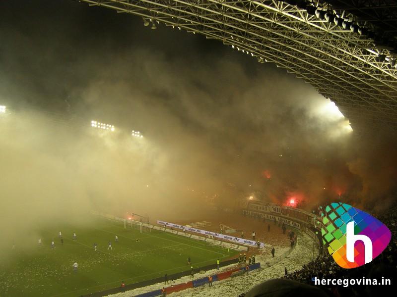 Hajduk-Dinamo ludnica u Splitu